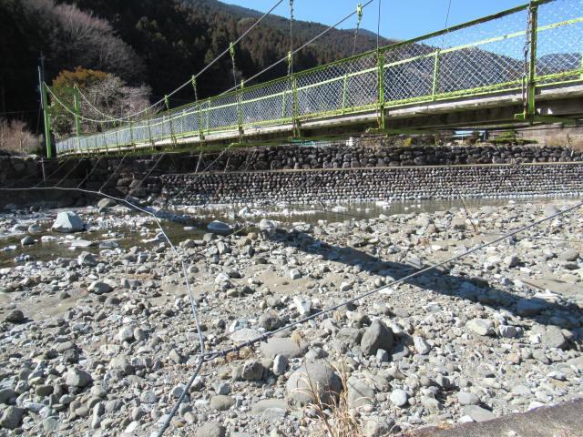 上佐野の吊橋4