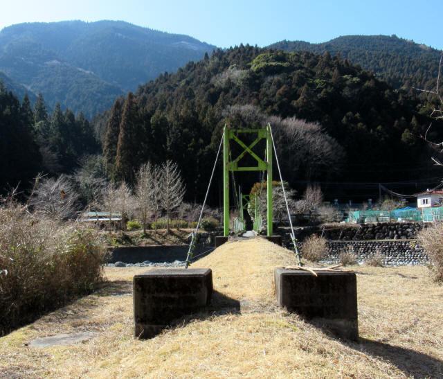 上佐野の吊橋6