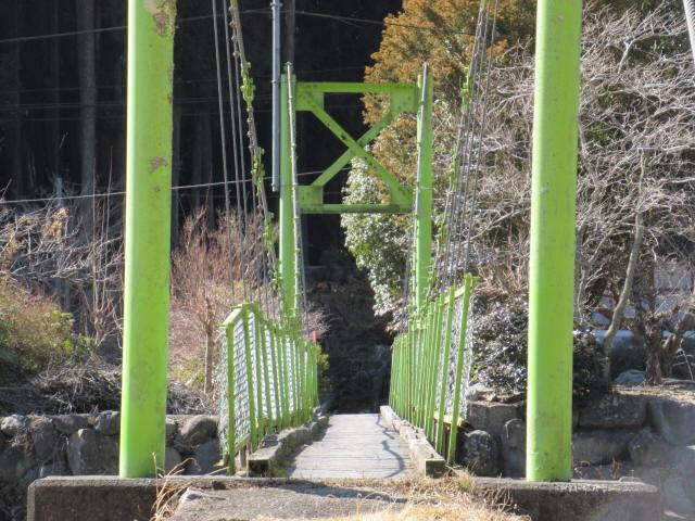 上佐野の吊橋9