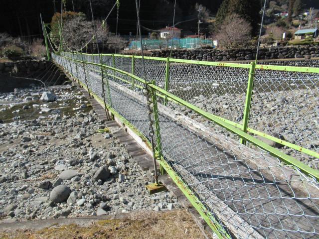 上佐野の吊橋0