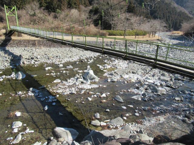 上佐野の吊橋5