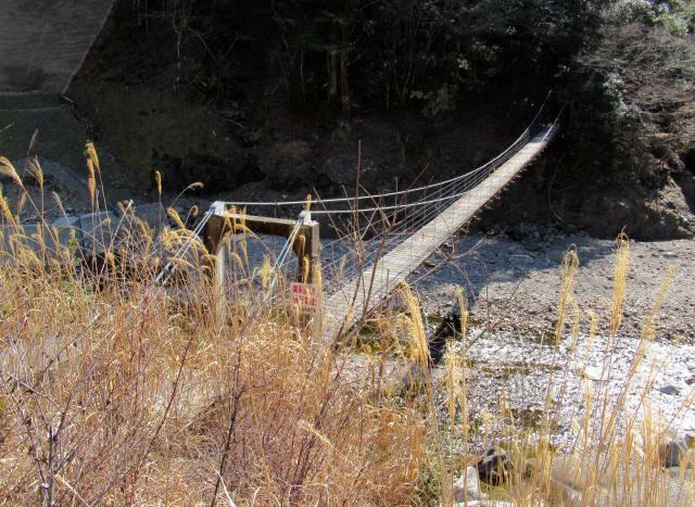 口合谷の吊橋1