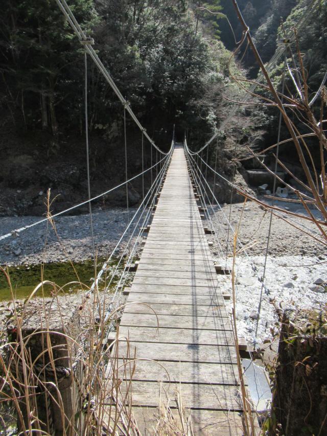 口合谷の吊橋2