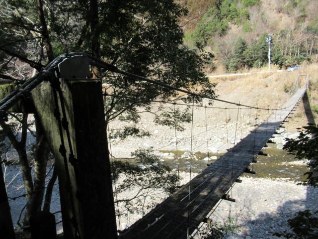 口合谷の吊橋3