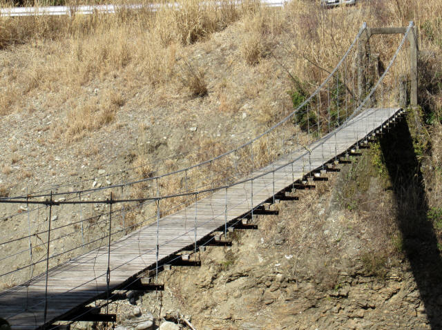 口合谷の吊橋4