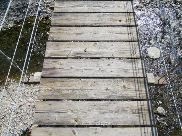 口合谷の吊橋0