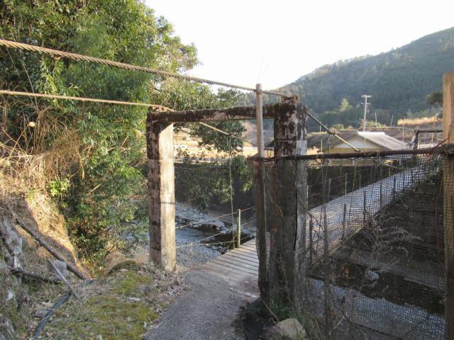 向垣内の吊橋3