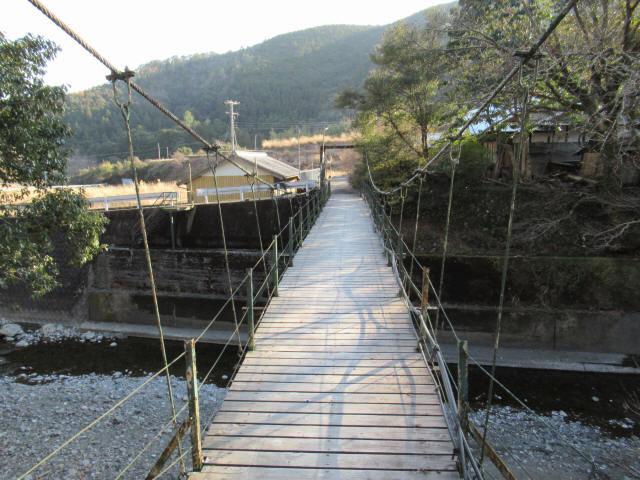 向垣内の吊橋8