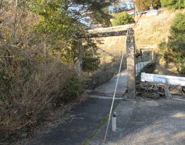 向垣内の吊橋4