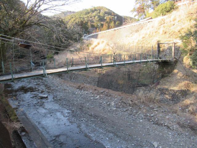向垣内の吊橋5