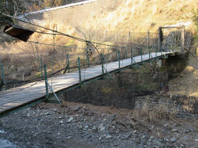 向垣内の吊橋6