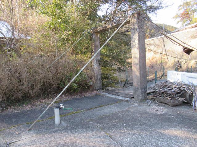 向垣内の吊橋7