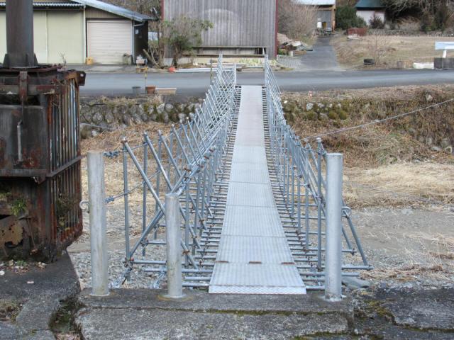 布沢の吊橋5