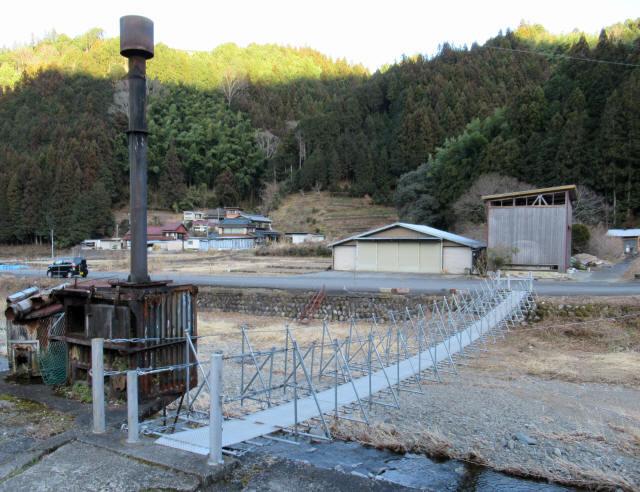 布沢の吊橋1