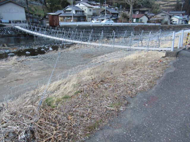 布沢の吊橋8