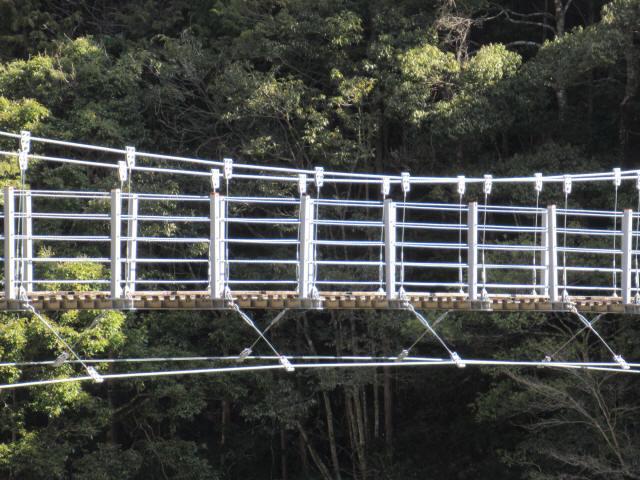滝浦の吊橋b