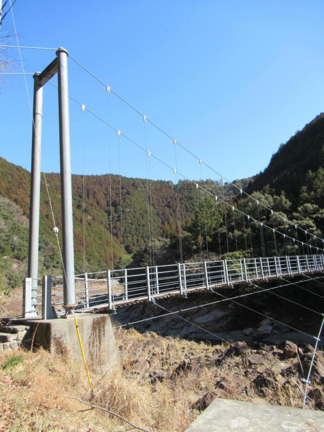 滝浦の吊橋1