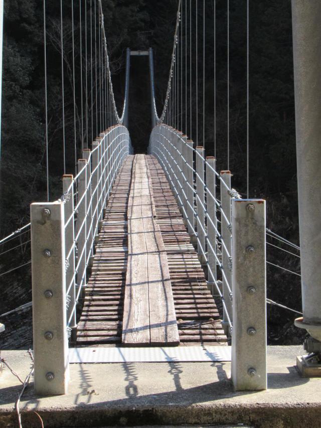 滝浦の吊橋3
