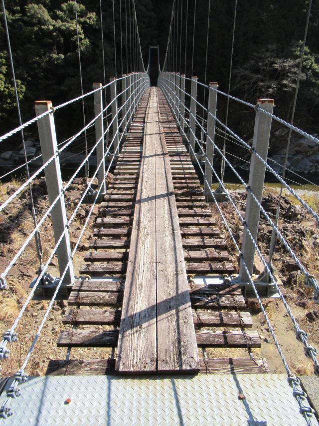 滝浦の吊橋4