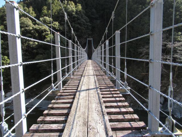 滝浦の吊橋5