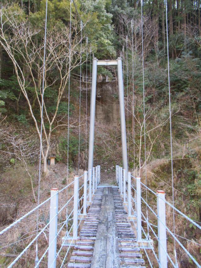 滝浦の吊橋a