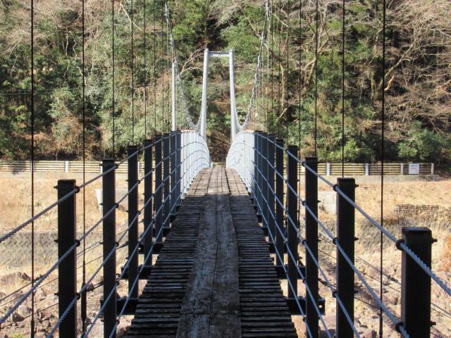 滝浦の吊橋6