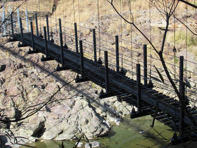 滝浦の吊橋9