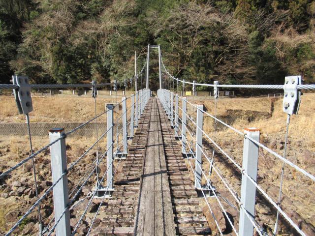 滝浦の吊橋7