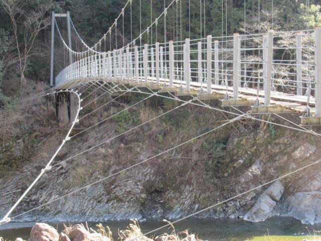滝浦の吊橋8