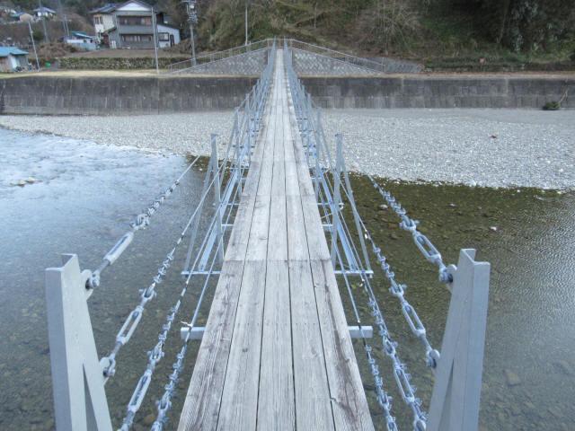 上ノ島の吊橋(新)2