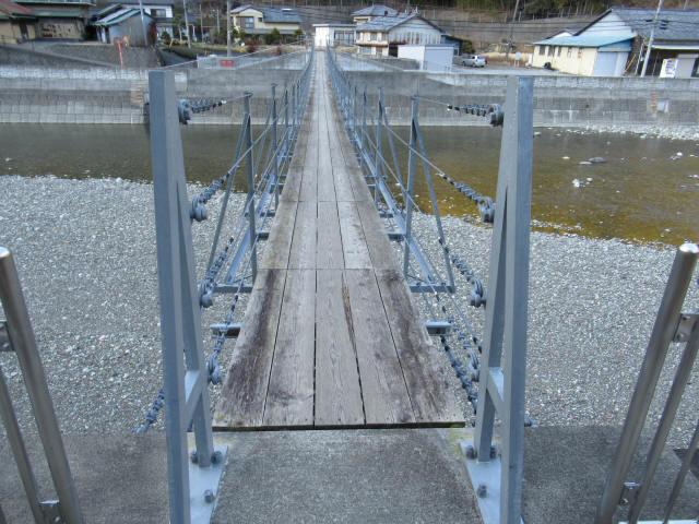 上ノ島の吊橋(新)7