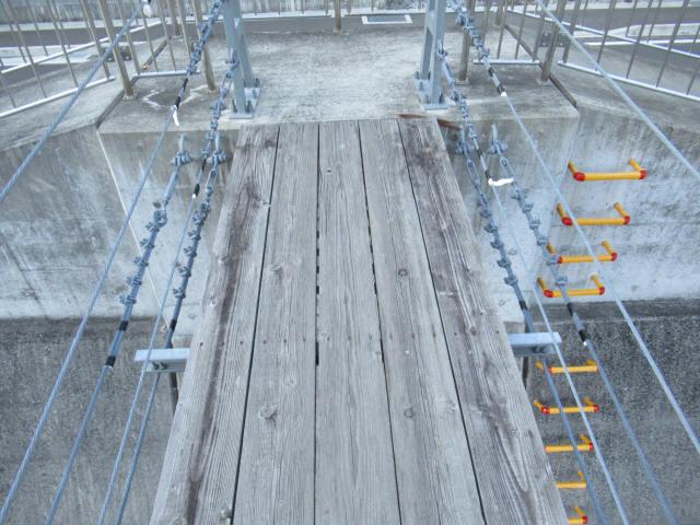上ノ島の吊橋(新)9