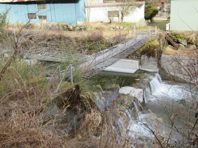 湯野の吊橋1