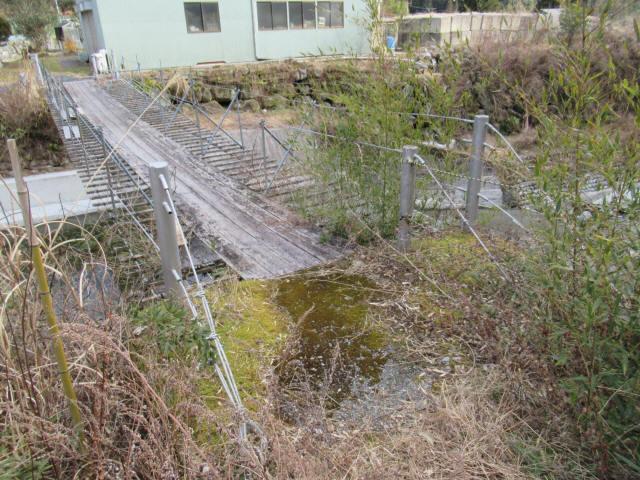 湯野の吊橋2