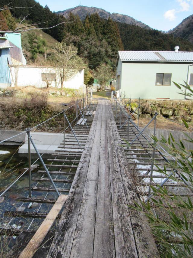 湯野の吊橋3