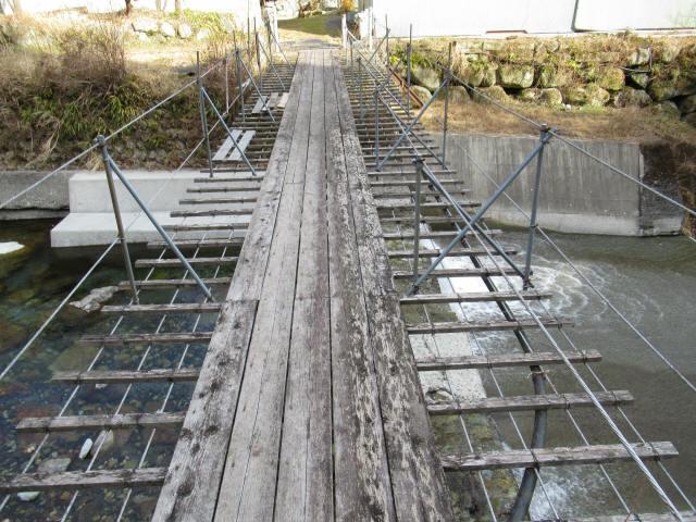 湯野の吊橋0
