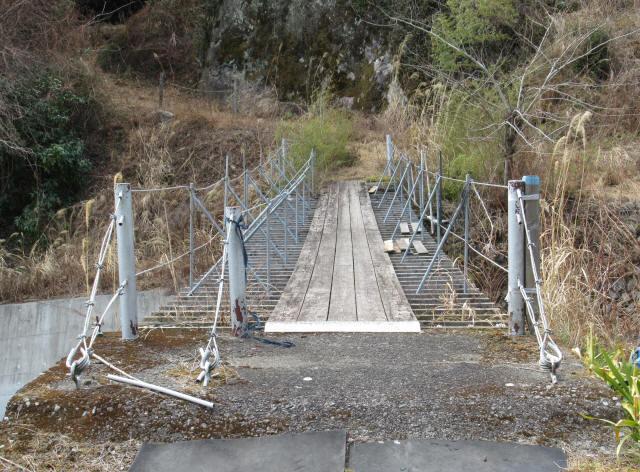 湯野の吊橋5