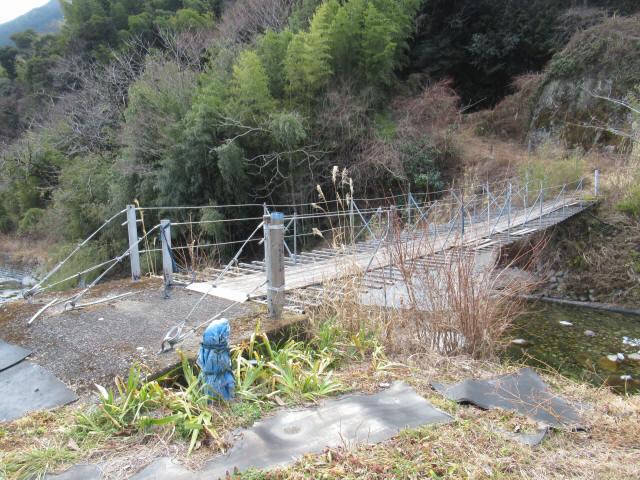 湯野の吊橋4