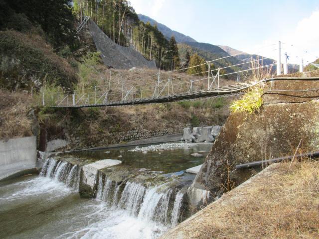 湯野の吊橋7