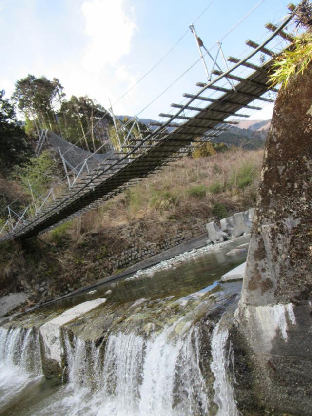 湯野の吊橋8