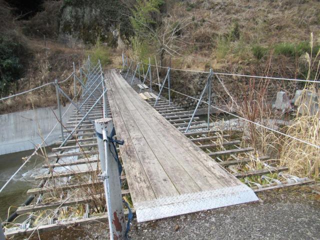 湯野の吊橋6