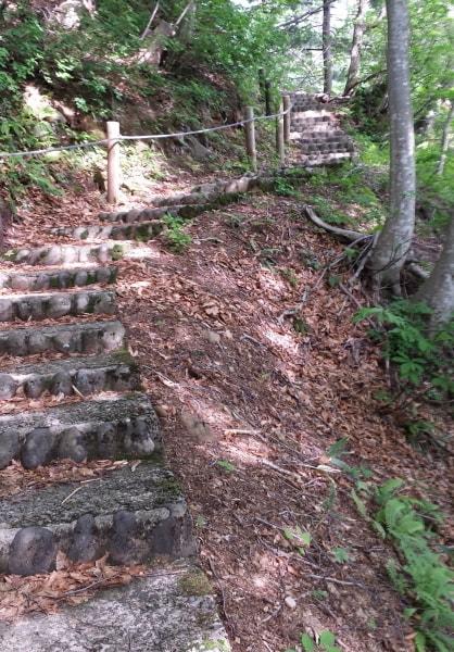 法体の滝_遊歩道