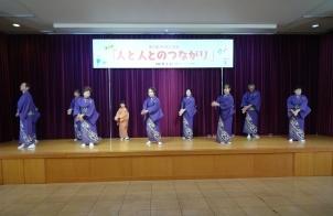 田上踊らんかいの見事な踊りも
