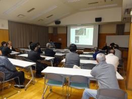土砂災害をスライドから学びました。