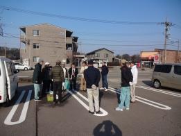湯涌街道のクリーン作戦開会式