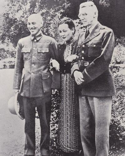 蒋介石宋美齢スチルウェル米陸軍中将