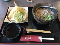 天ぷらそば180210