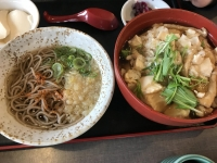豆腐丼セット180210