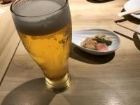 とにかくまずは生ビール180210