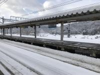 近江塩津駅180212